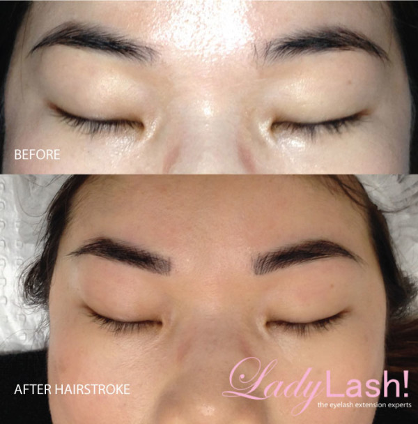 Cosmetic-Tattoo-eyebrows-before-and-after-hairstroke-ys