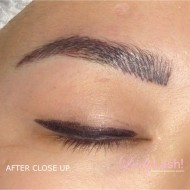 Cosmetic Tattoo Eyebrows - Close Up