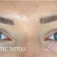 Cosmetic Tattoo Eyebrows MZ After Retouch