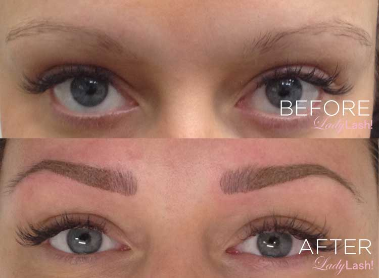 eyebrow tattoo before and after | Beauty Wallpaper