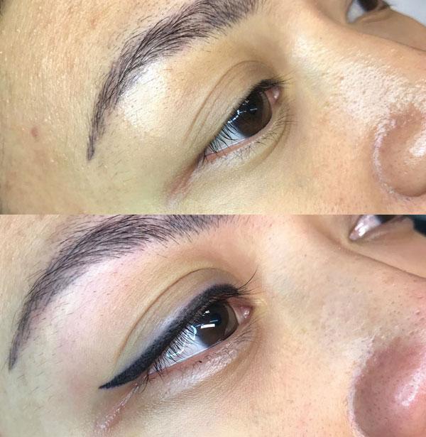Eyeliner Tattoo Lady Lash Nicole 2 Cosmetic Tattoo