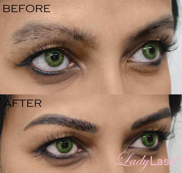 Eyebrow Tattoo Makeup | Saubhaya Makeup