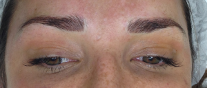 Cosmetic Tattoo eyebrows after hairstroke treatment SR2